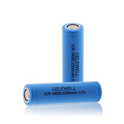 ICR18650 2200mAh 3.7V Li-ion Batteries